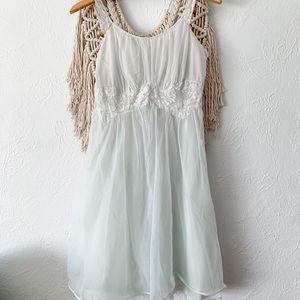 Vintage Lace Negligé